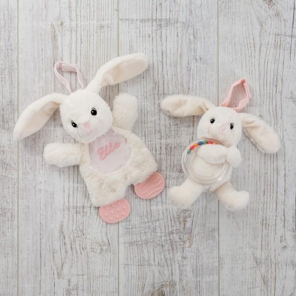 Kaninchen Beissspielzeug & Ringrassel